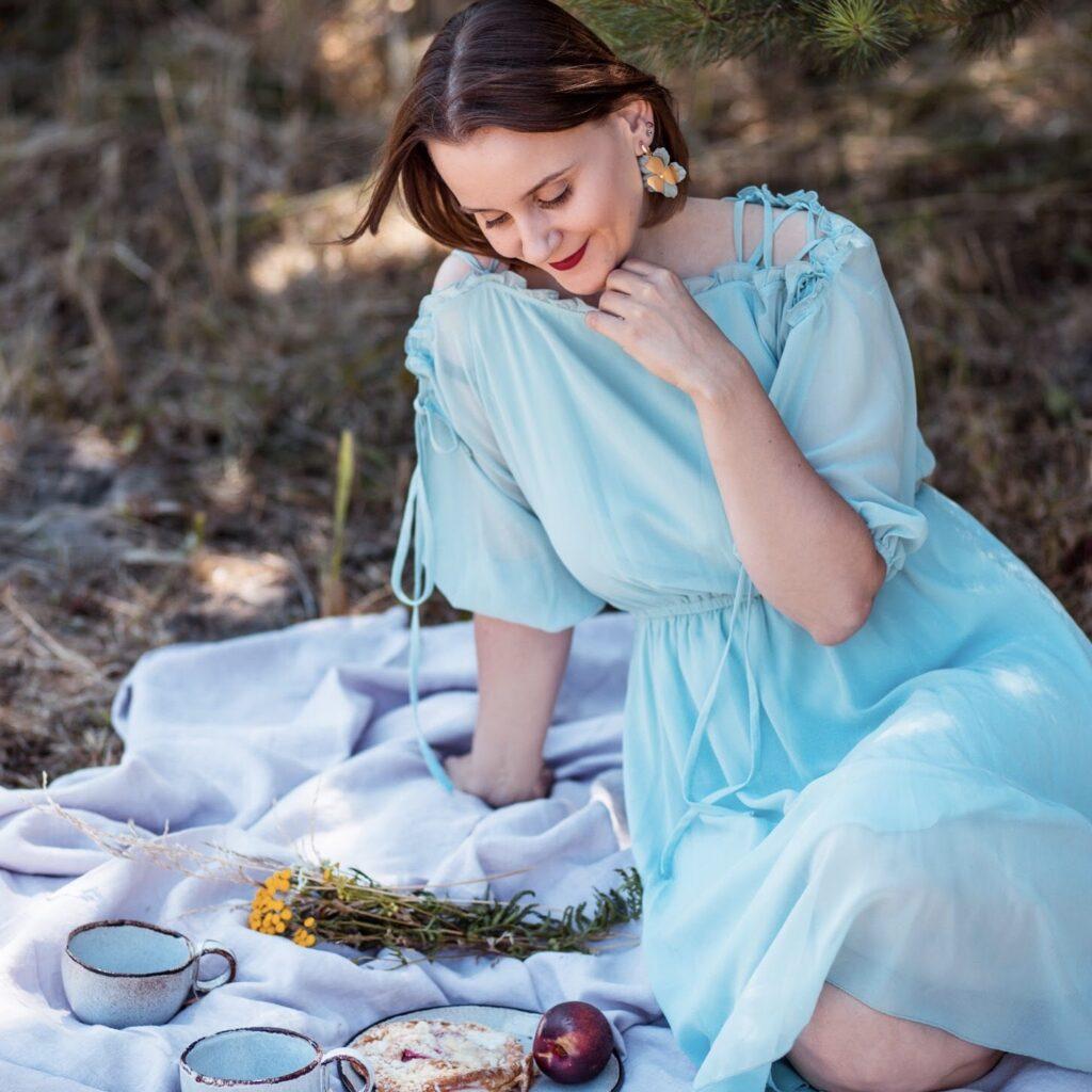 sukienka-turkusowa